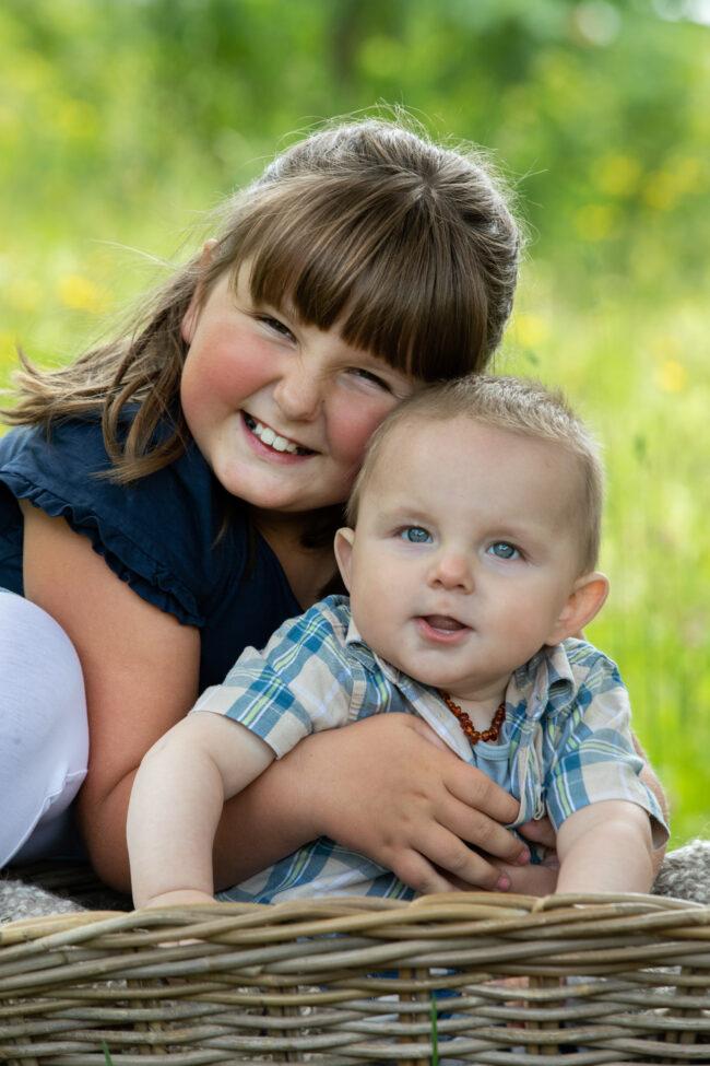 Fotos von Geschwistern